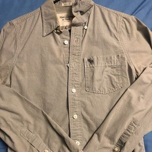 Abrecombie and Fitch dress shirt